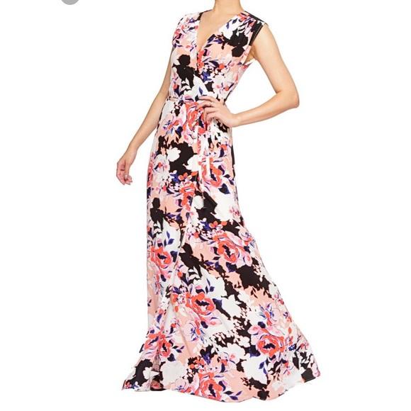 Yumi Kim Dresses Swept Away Silk Maxi Dress Small Coral Poshmark